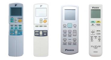 Remote Máy lạnh các loại